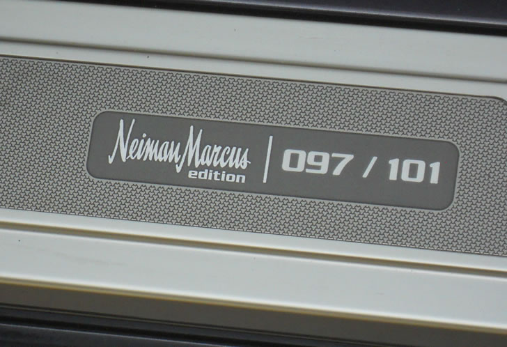 2004 Cadillac XLR Neiman Marcus Special Edition #97 out of 101