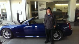 Baby Blue with Adolph the Tech at Capitol Cadillac.jpg