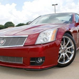 2009 Cadillac XLR-V - Crystal Red Metallic