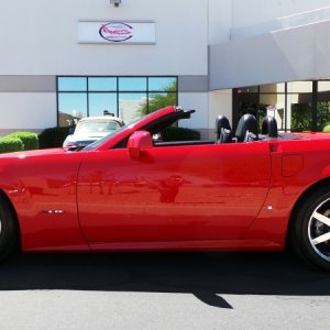 2007 Cadillac XLR - Passion Red Limited Edition