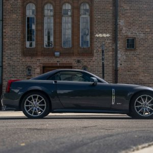 2009 Cadillac XLR-V in Gray Flannel