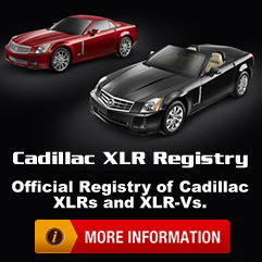 Click here to check out the Cadillac XLR Registry!