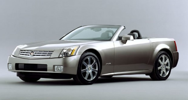 2004 Cadillac XLR in Light Platinum
