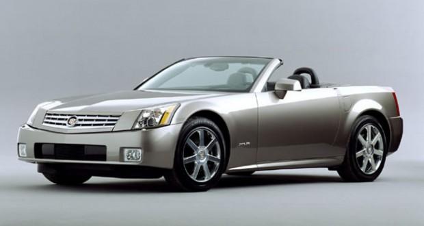 2004 Cadillac XLR in Light Platinum