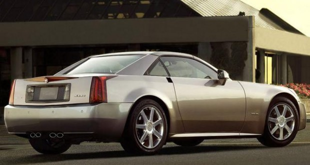 2004 Cadillac XLR in Satin Nickel