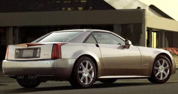 2004 Cadillac XLR in Satin Nickel