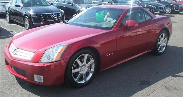2005 Cadillac XLR #1448 - Crimson Pearl