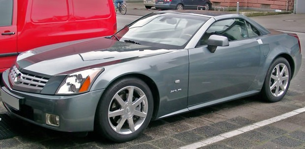 2004 Cadillac XLR in Thunder Gray