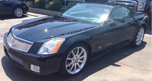 2007 Cadillac XLR-V #1012 - Black Raven