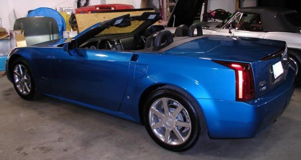2008 Cadillac XLR #53 in Elektra Blue