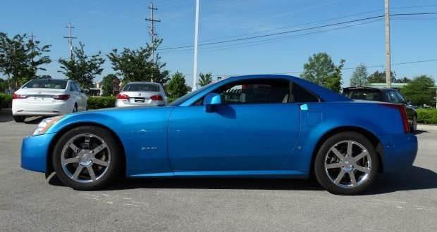 2008 Cadillac XLR #858 in Elektra Blue