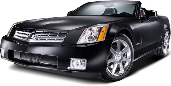 2008 Cadillac XLR in Black Raven