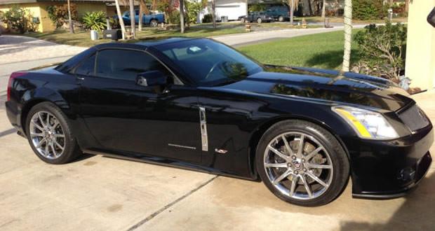 2009 Cadillac XLR-V #616