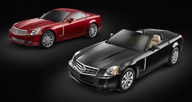 2009 Cadillac XLR and XLR-V