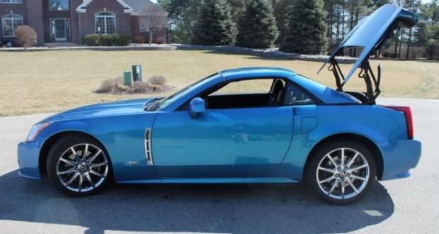 2009 Cadillac XLR-V in Elektra Blue