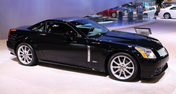 2009 Cadillac XLR-V in Black Raven