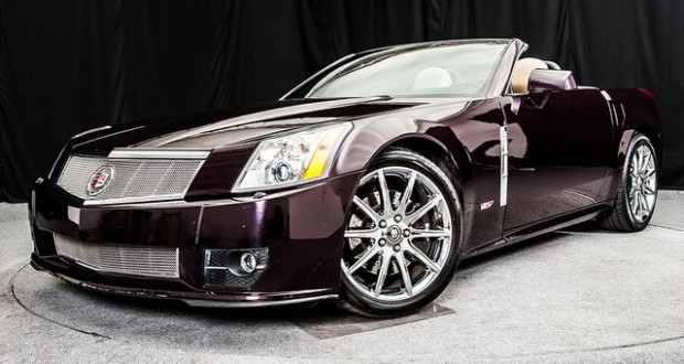 2009 Cadillac XLR-V in Black Cherry
