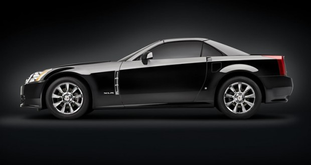 2009 Cadillac XLR in Black Raven