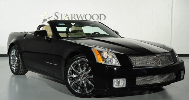 2008 Cadillac XLR-V in Black Raven