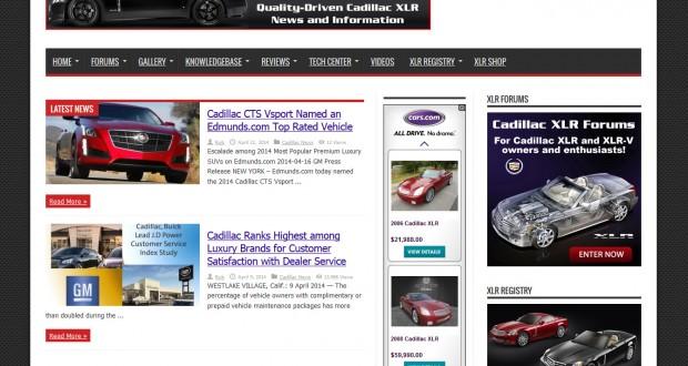 XLR Net Home Page