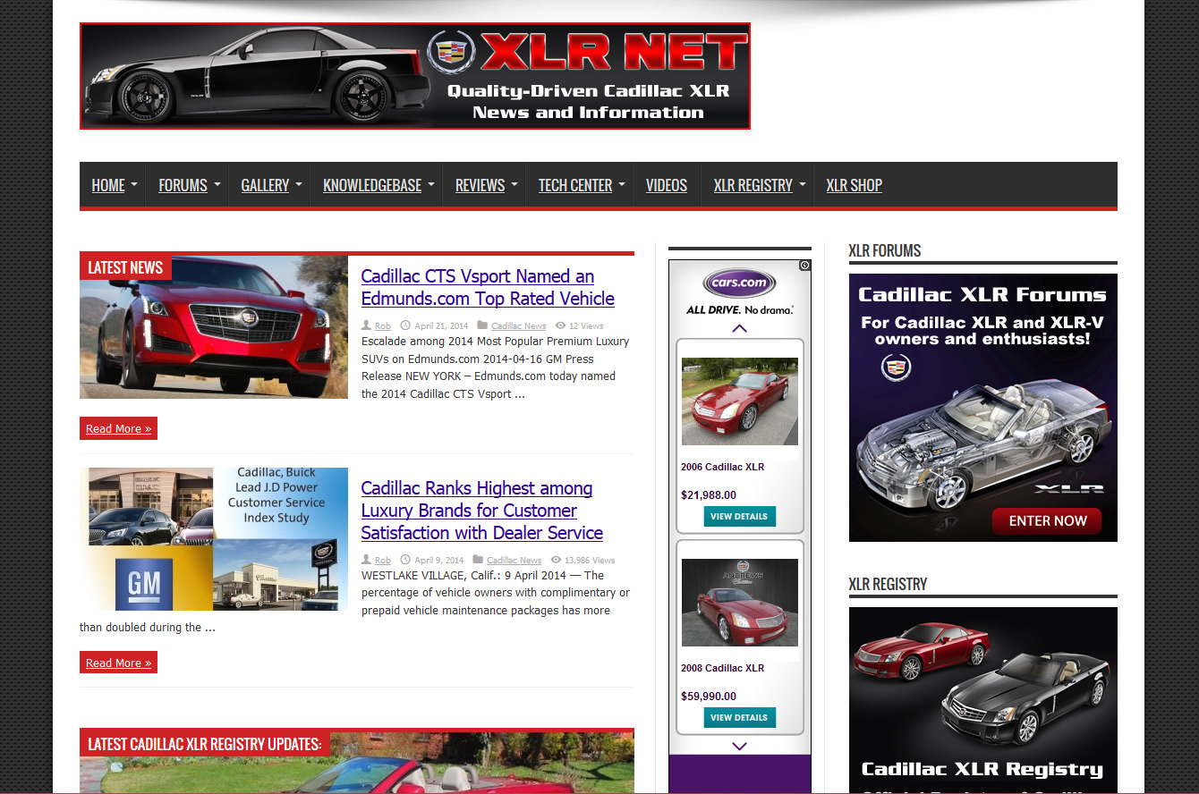 XLR Net Gets a New Front End