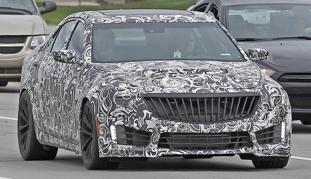 2016 Cadillac CTS-V Spied – Will have Twin Turbo V8