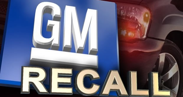 GM Announces Six Recalls for Varying Safety Issues