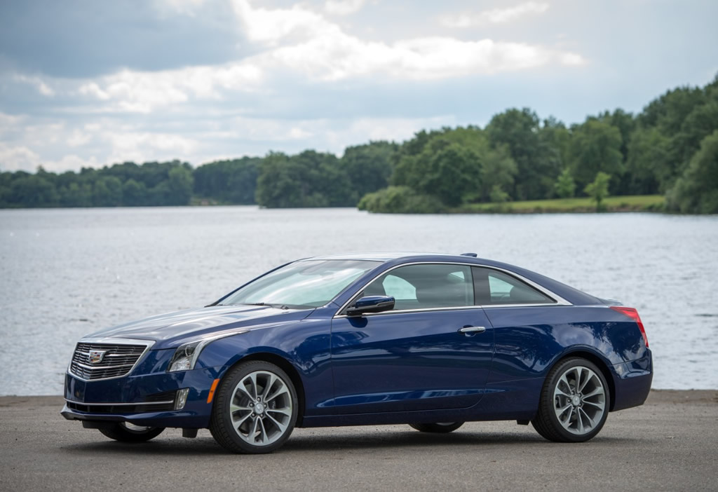 Cadillac ATS Coupe 2.0T Gets More Torque Output, Equipment