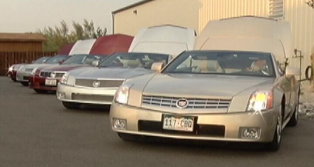 Owners of rare Cadillacs stop in Billings