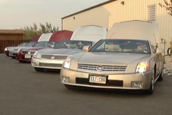 Owners of rare Cadillacs stop in Billings