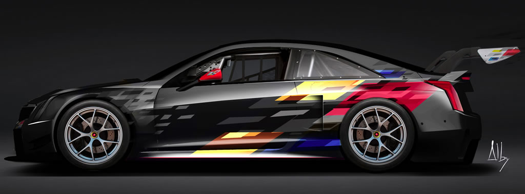 GM Press Release:  Cadillac Introduces All-New ATS-V.R Race Car
