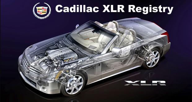 Cadillac XLR Registry Updated