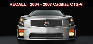 General Motors recalls 2004 - 2007 Cadillac CTS-V