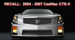 General Motors recalls 2004 - 2007 Cadillac CTS-V
