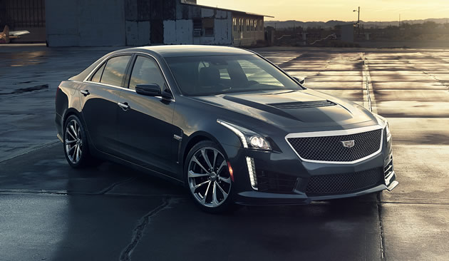 Next-Generation 640-hp Cadillac CTS-V Launches This Summer