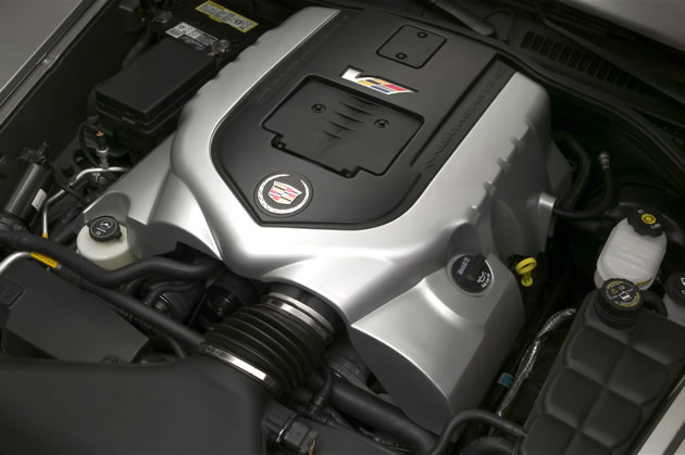 Cadillac XLR-V Engines in Used Condition Now for Sale in GM Inventory at Powertrain Company Website