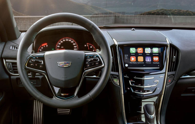 Cadillac Enhances Phone Integration for 2016 Models with Apple CarPlay, CUE Upgrades
