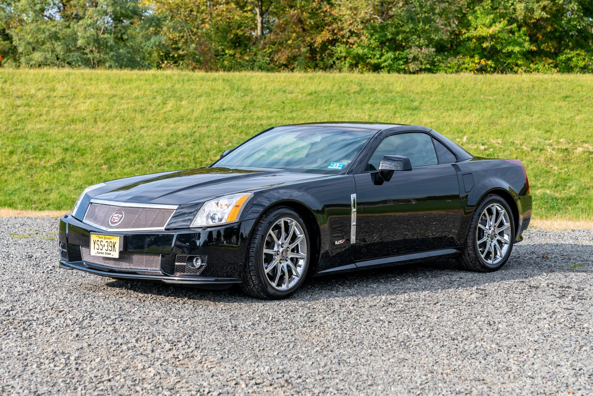[Bring a Trailer]  2009 Cadillac XLR-V For Sale With Only 2,500 Miles