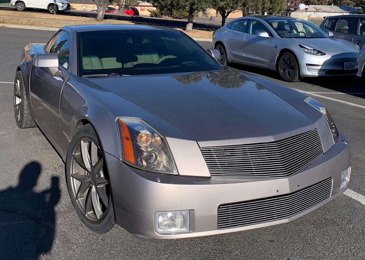 FOR SALE:  2004 Cadillac XLR Mallett Turbocharged – 1 of 2 Built